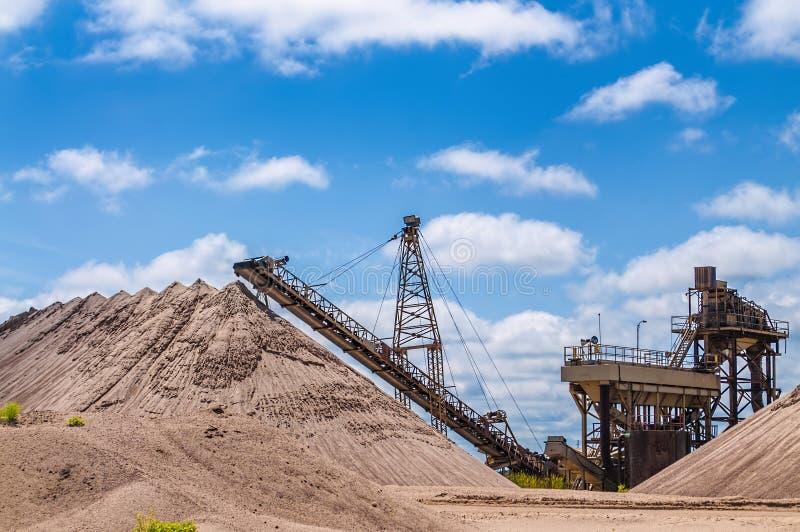 Карьер песка стоковое изображение
