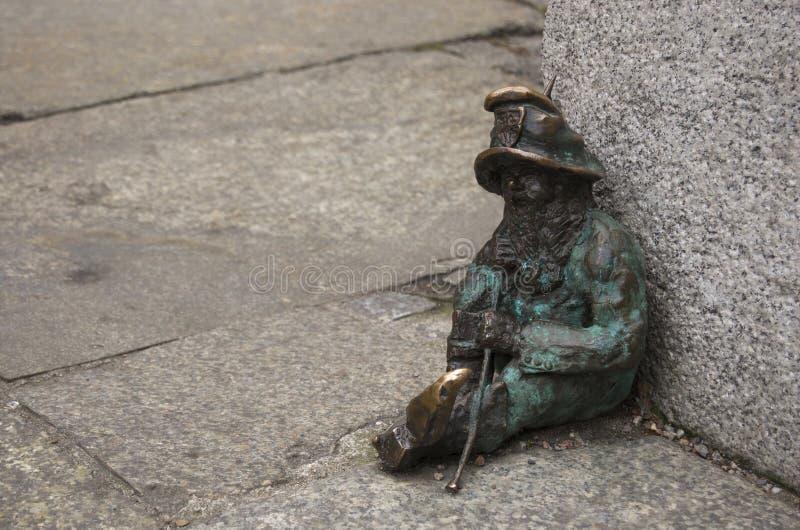 Карлик Wroclaw стоковая фотография rf