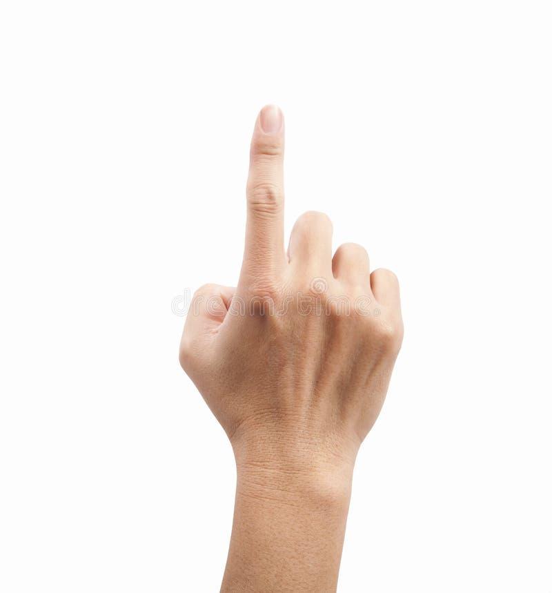 касатьться человека руки стоковые фото