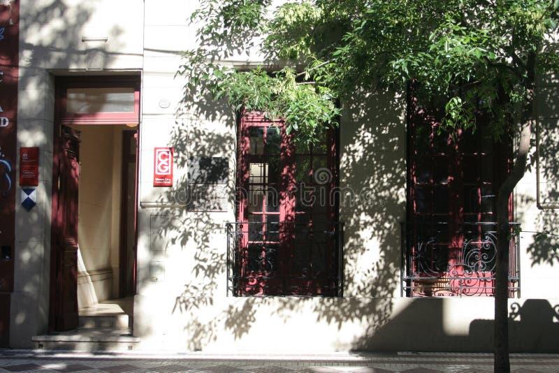 Каса de Карлос Gardel стоковое фото rf