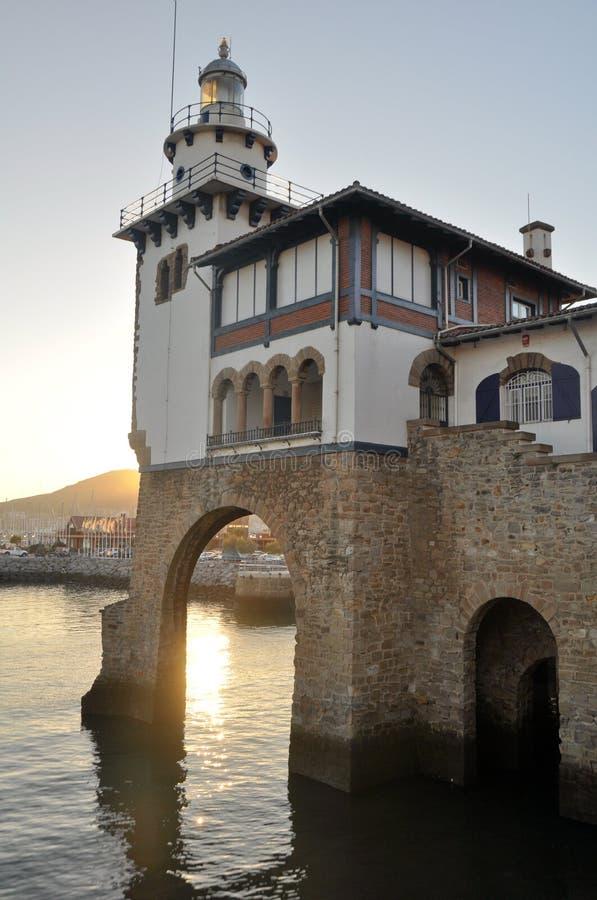 Каса de Naufragos, Getxo (Biscay) стоковые изображения