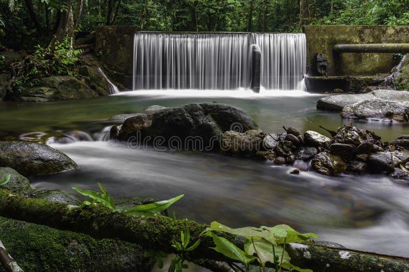 Каскады водопада стоковые изображения