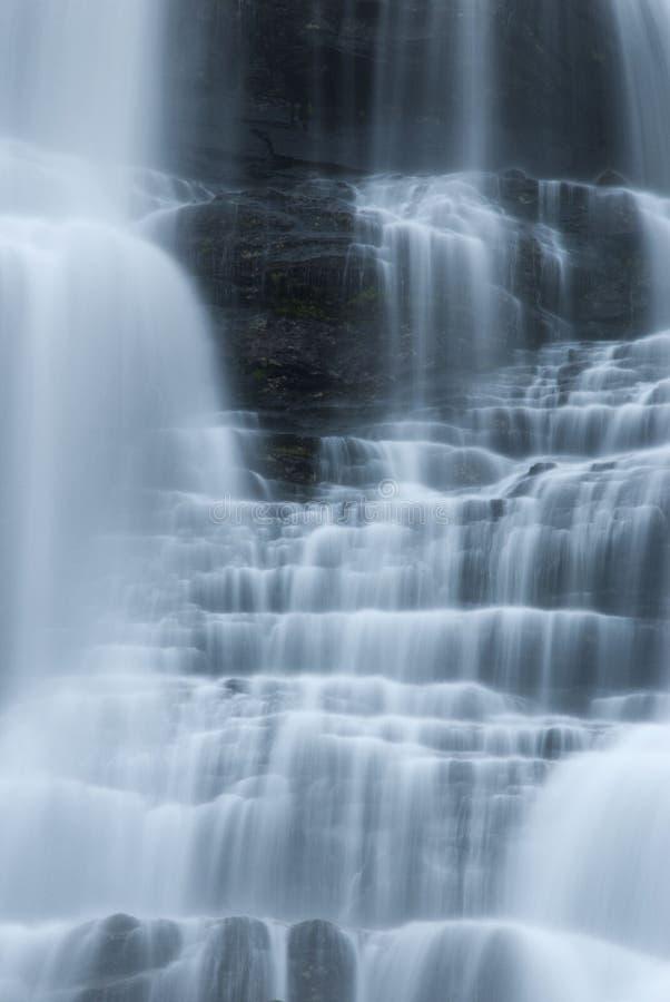 Каскады воды стоковое изображение rf