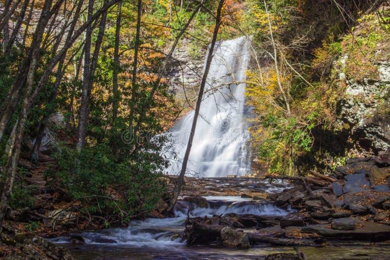 Каскады, Giles County, Вирджиния, США стоковая фотография rf