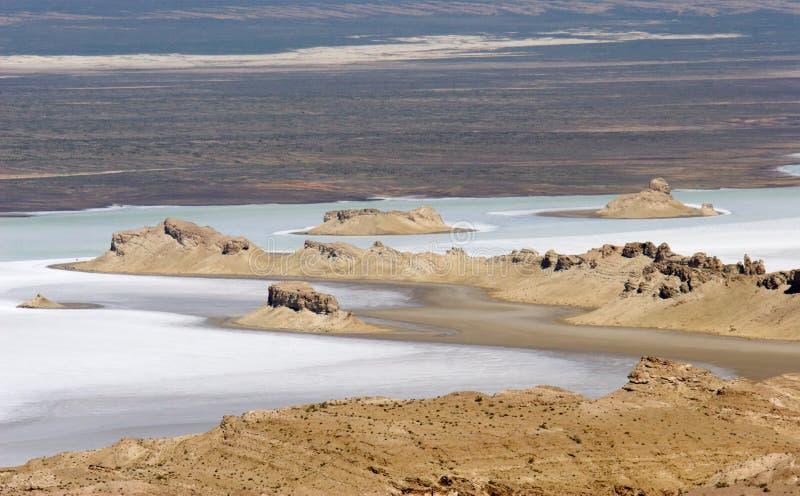 Каспийское море стоковое фото rf