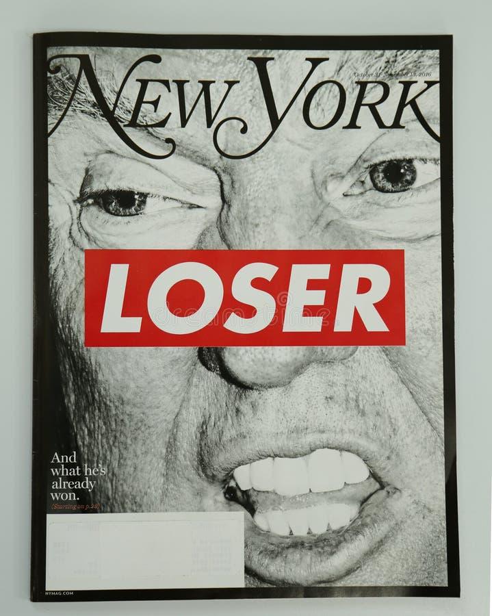 Кассета Нью-Йорка выданная перед президентскими выборами 2016 стоковое фото rf