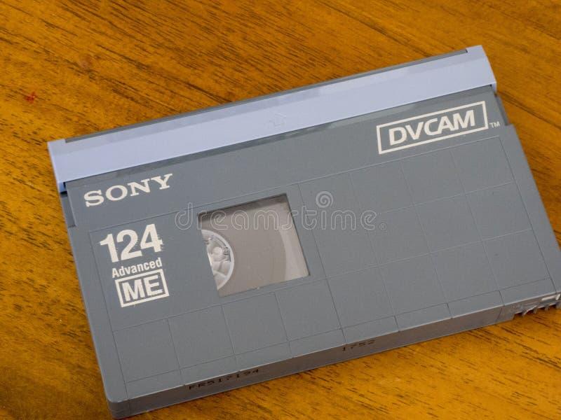 Кассета DVCAM видео- стоковые изображения