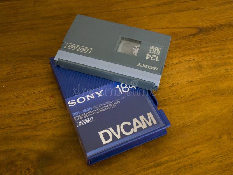 Кассета DVCAM видео- стоковая фотография rf
