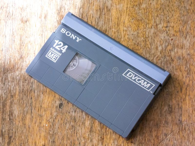 Кассета DVCAM видео- стоковая фотография
