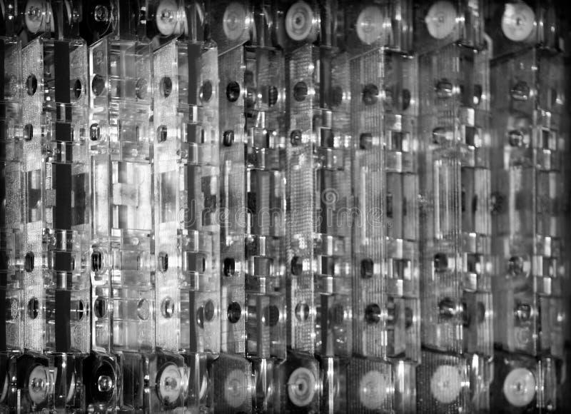 кассеты стоковое фото
