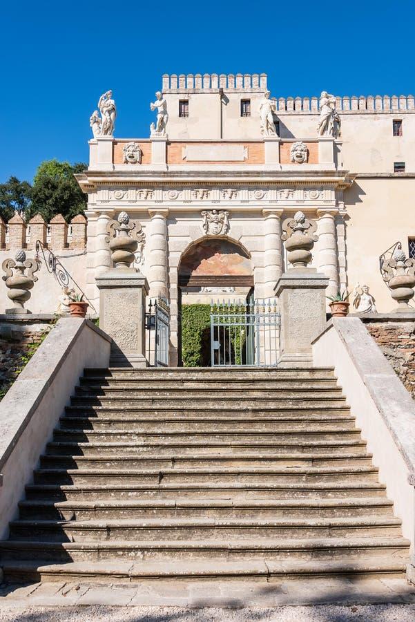 Кастелло-дель-Катаджо стоковая фотография rf