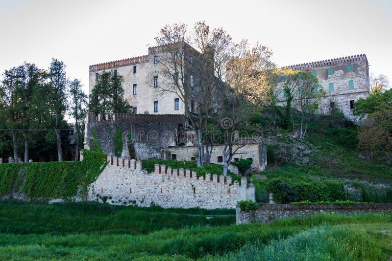 Кастелло-дель-Катаджо стоковое изображение rf