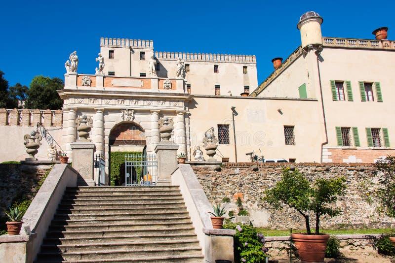 Кастелло-дель-Катаджо стоковые изображения rf