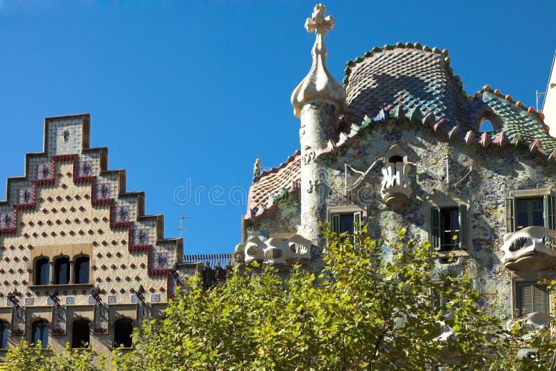 Download Касы batllo стоковое изображение. изображение насчитывающей каталония - 1195623