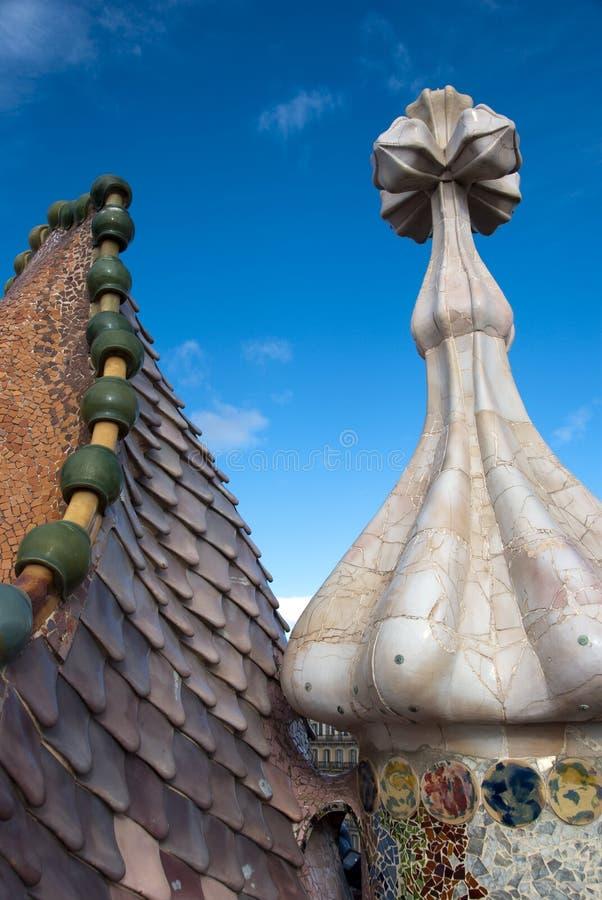 Касы battlo детализируют крышу стоковые фото