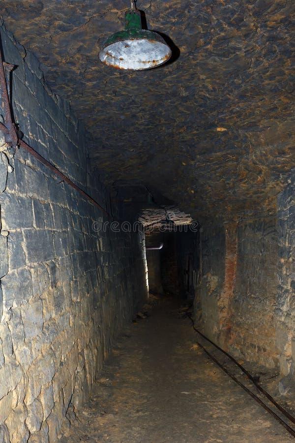 Катакомбы Одессы стоковое изображение rf
