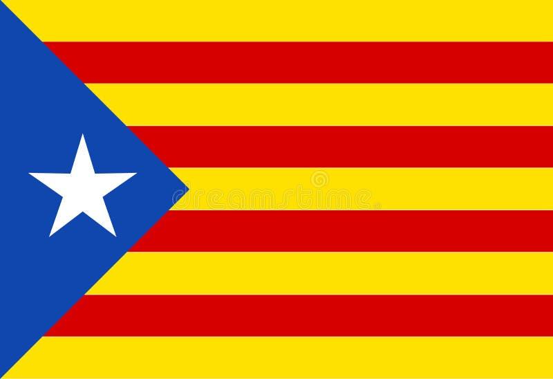 Каталонский флаг бесплатная иллюстрация