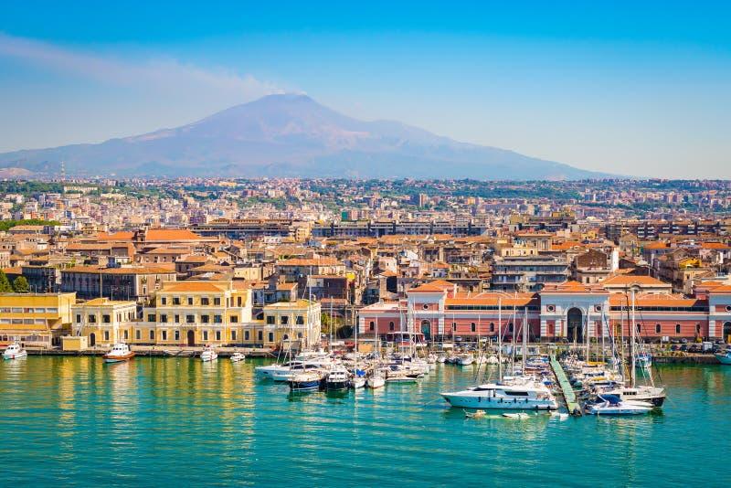 Катания Сицилия, Италия стоковая фотография rf