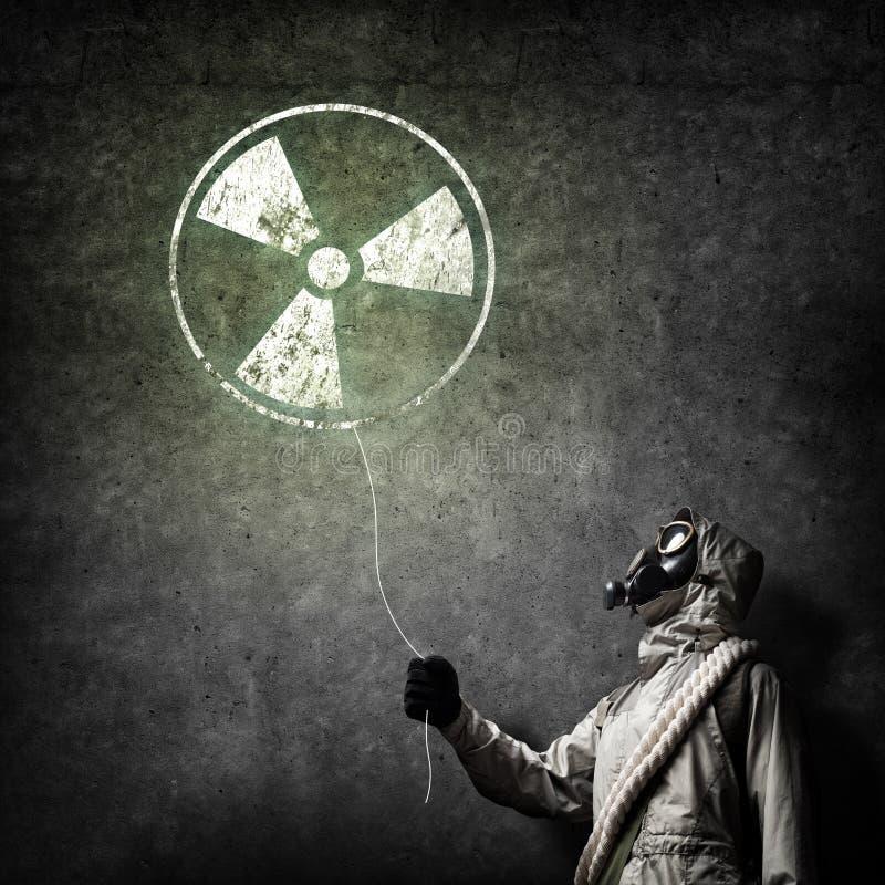 Катастрофа радиоактивности стоковая фотография rf