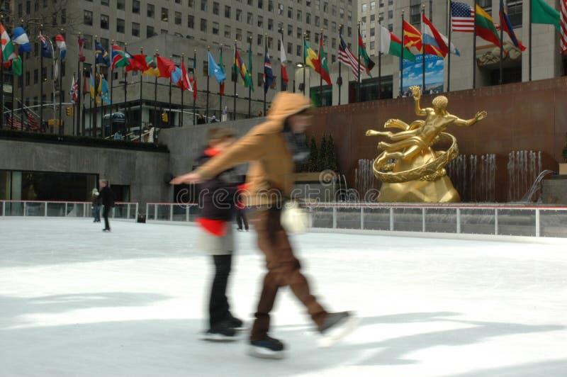кататься на коньках стоковое изображение rf