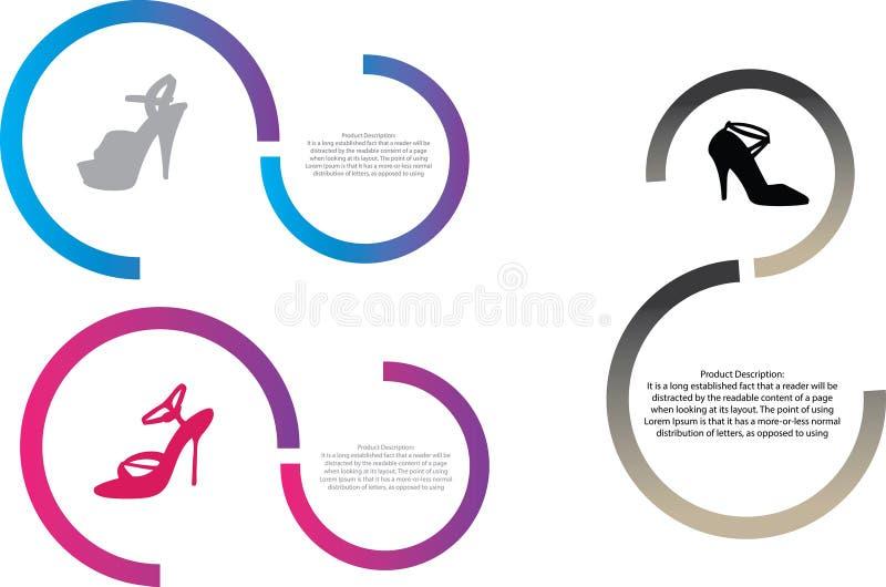Каталог продуктов иллюстрация штока