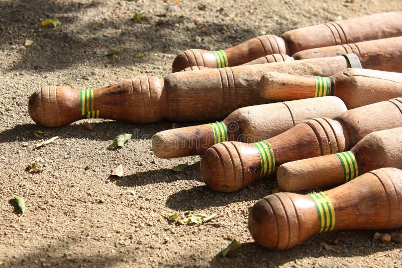 Каталонский боулинг стоковое фото rf