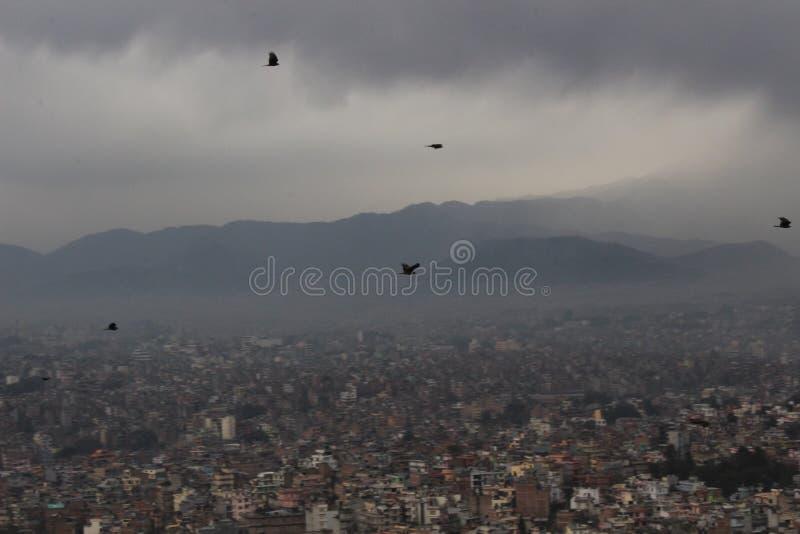 Катманду, Непал, Южная Азия, взгляд стоковая фотография rf