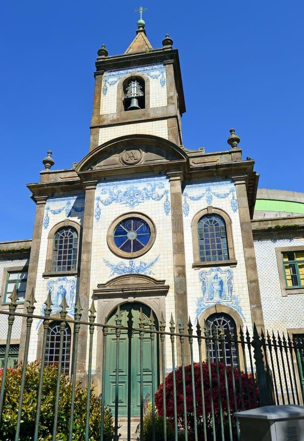 Католическая церковь в Порту, Capela de Fradelos, Португалии стоковое изображение rf