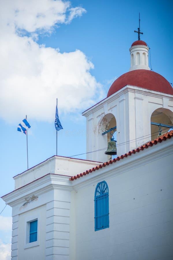 Католическая церковь в Cienfuegos, Кубе стоковое фото rf