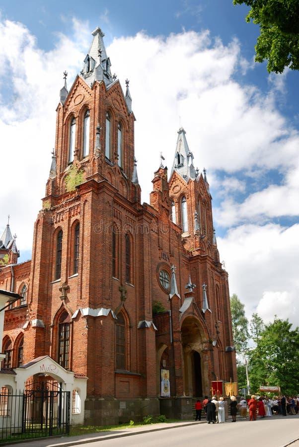 католическая церковь Россия smolensk стоковая фотография