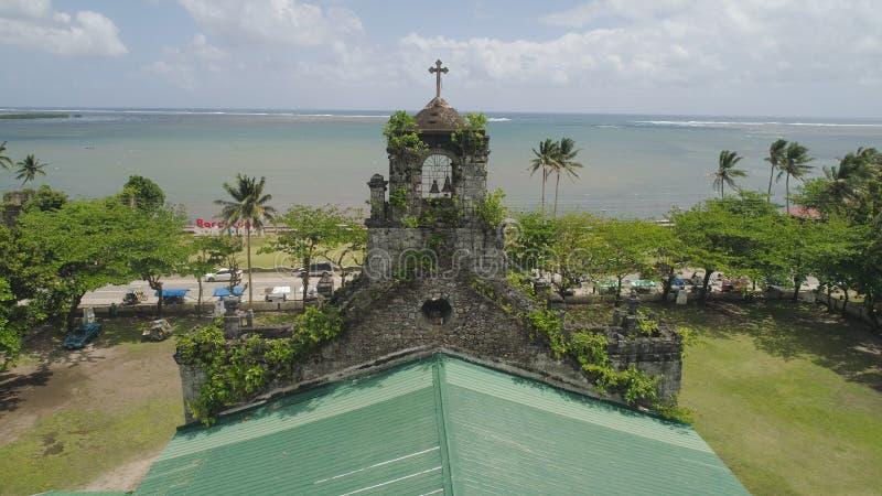 католическая церковь старая Барселона, Sorsogon, Филиппины стоковые фото