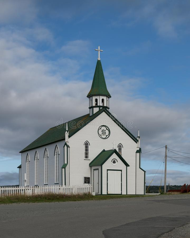 Католическая церковь ` s St Joseph Bonavista стоковое изображение