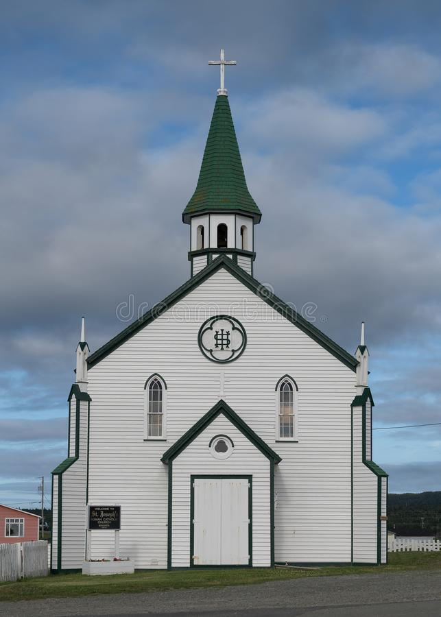 Католическая церковь ` s St Joseph Bonavista стоковая фотография rf