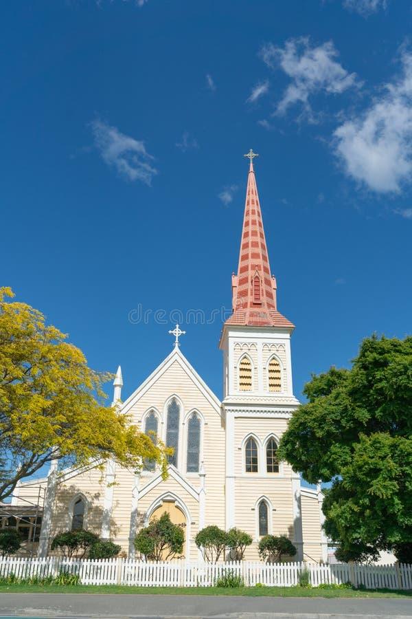 Католическая церковь St Mary в Blenheim стоковая фотография