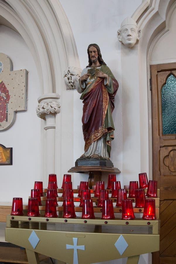 Католическая церковь St. Thomas стоковое фото rf