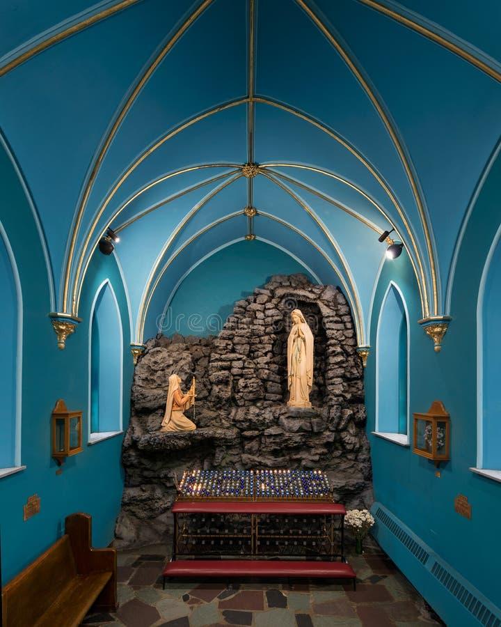 Католическая церковь Сент-Луис Bertrand стоковые изображения rf