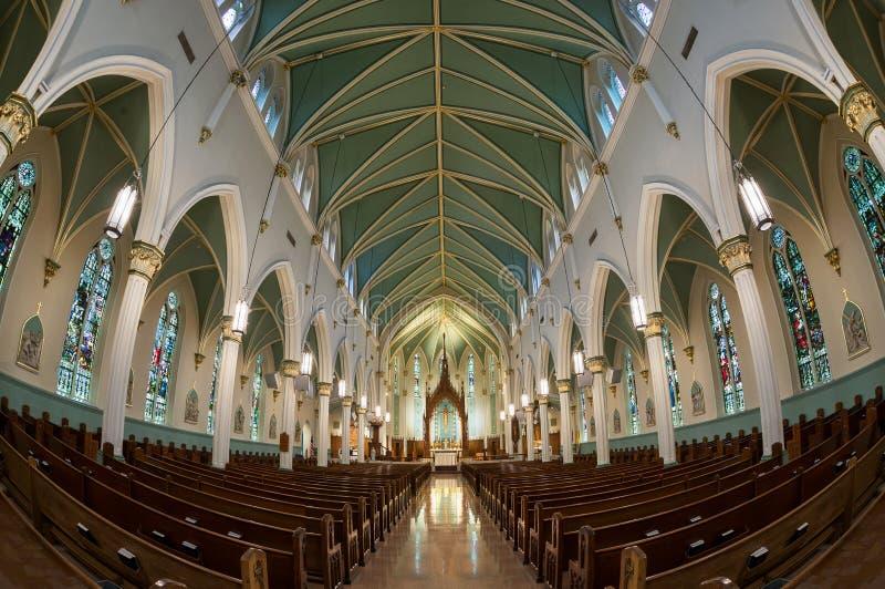 Католическая церковь Сент-Луис Bertrand стоковые фото
