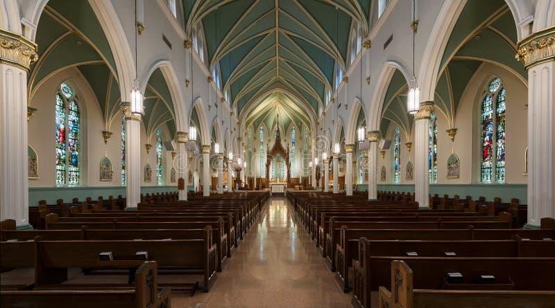 Католическая церковь Сент-Луис Bertrand стоковое изображение