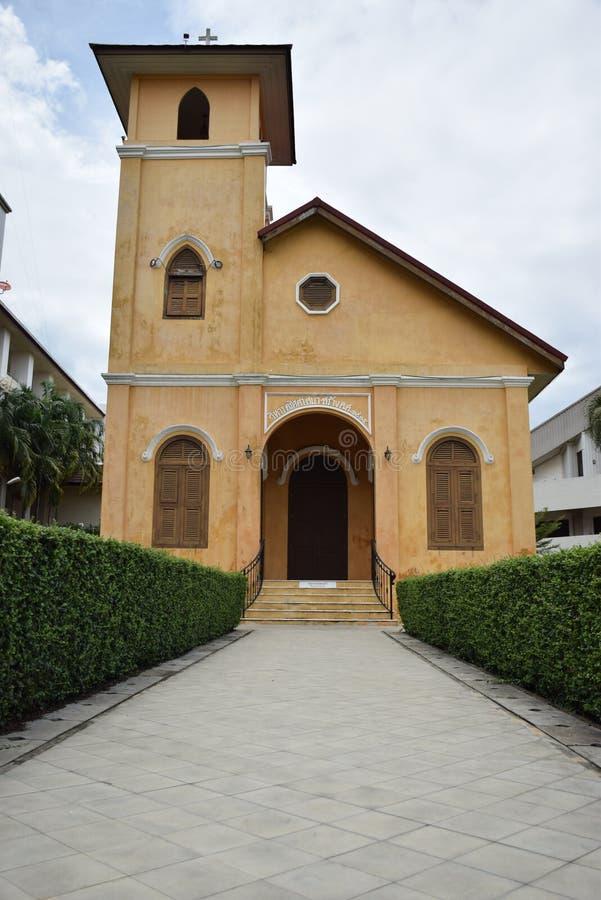 католическая церковь Таиланд стоковое изображение rf