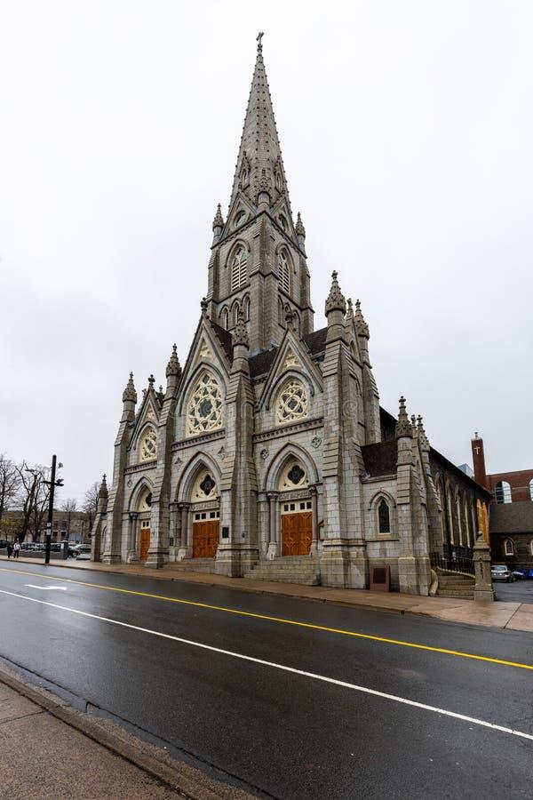 Кафедральный собор Галифакса в Канаде стоковое фото rf