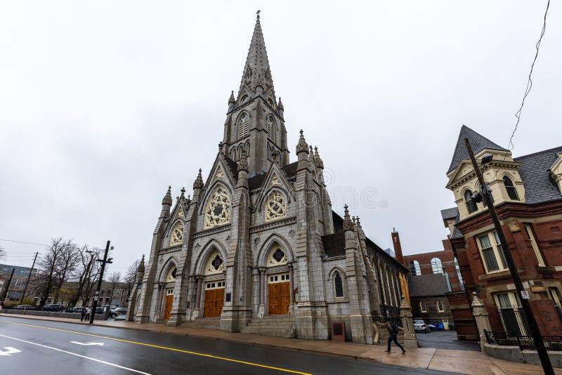 Кафедральный собор Галифакса в Канаде стоковые фото