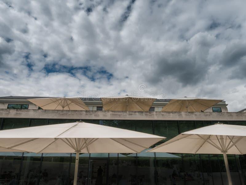 Кафе на королевском морском музее в Гринич-виллидж, Лондоне стоковое фото rf