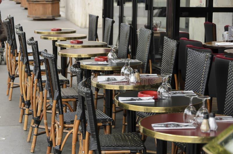 Кафе Париж стоковые фотографии rf