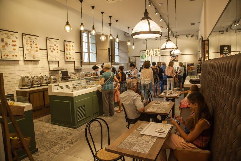 Кафе Ametller стоковая фотография rf