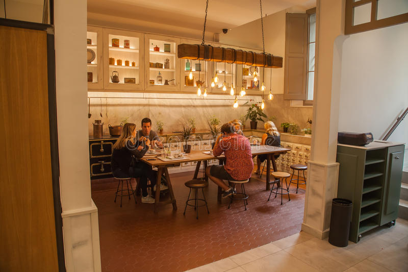 Кафе Ametller стоковые фото