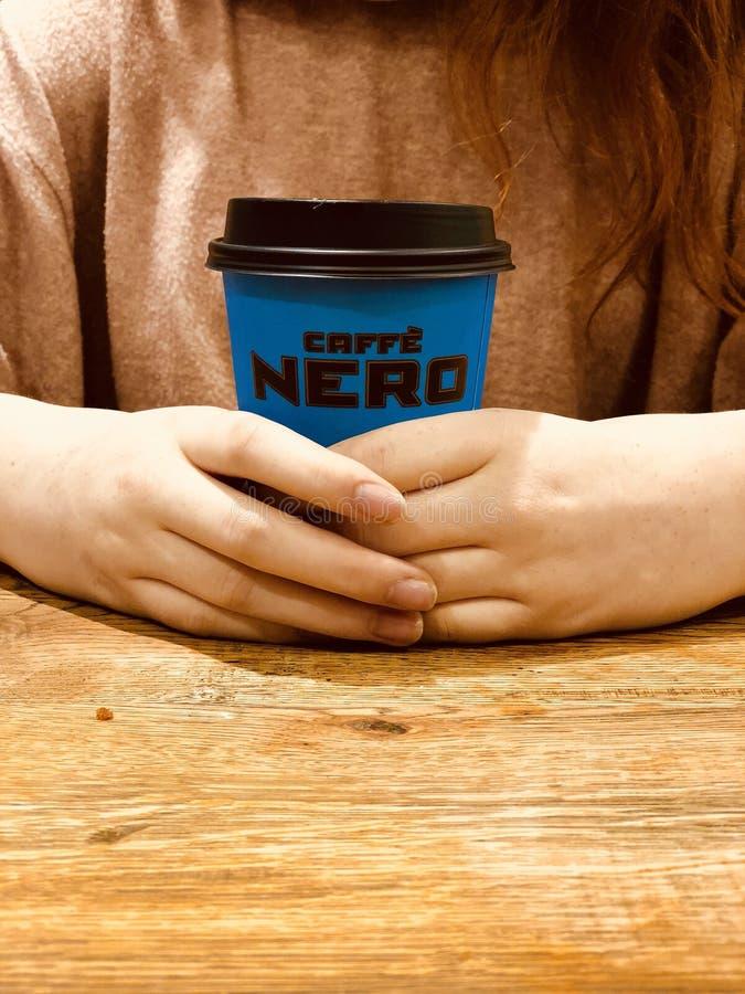 Кафе Nero стоковая фотография