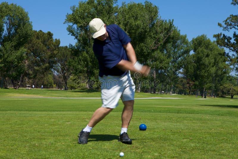 качание гольфа стоковое изображение rf