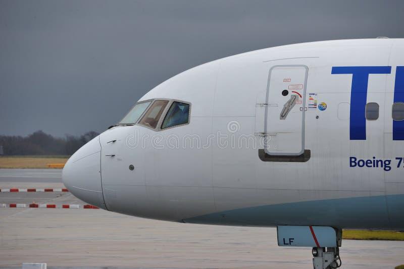 Кашевар Боинг 757 Томаса стоковое фото rf