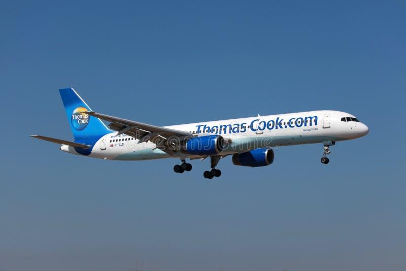 Кашевар Боинг 757-200 Thomas стоковые изображения