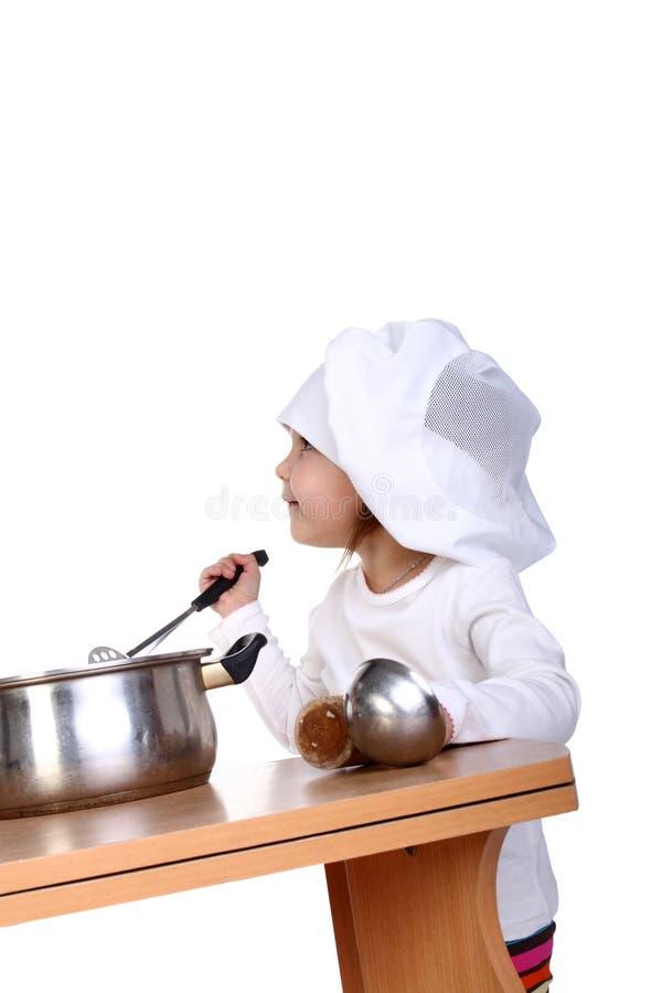 кашевар младенца стоковое фото rf